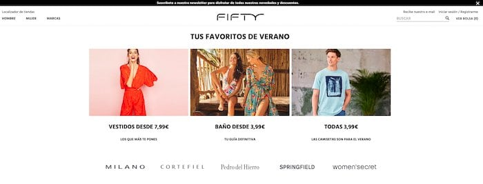 DEVOLUCIONES EN FIFTY FACTORY